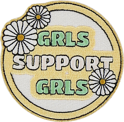 Girls Support Girls Sticker Patch