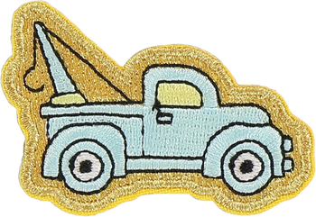 Tow Truck Sticker Patch