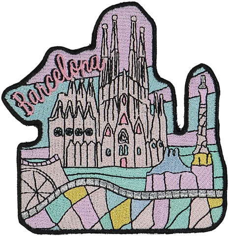Barcelona Sticker Patch