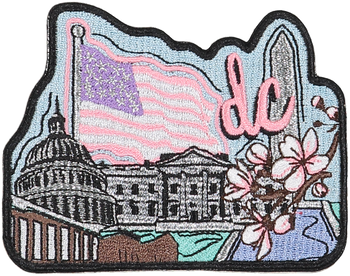 Washington DC Sticker Patch