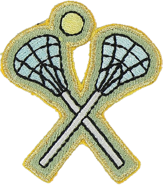 Lacrosse Sticker Patch
