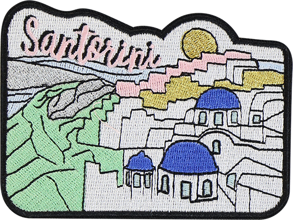Santorini Sticker Patch