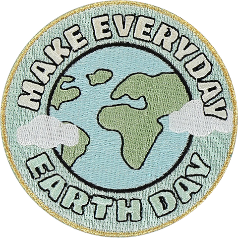 Make Everyday Earth Day Sticker Patch