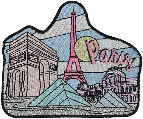 Paris Sticker Patch