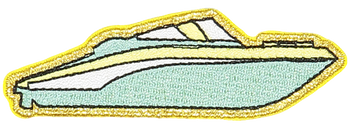 Speedboat Sticker Patch