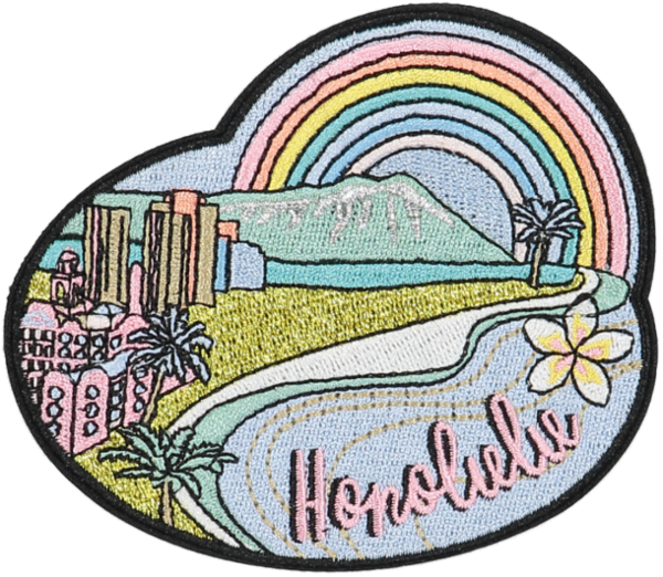 Honolulu Sticker Patch