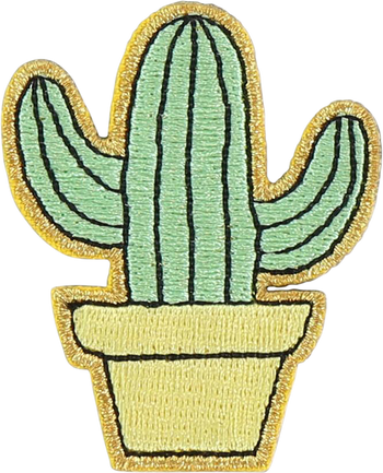 Cactus Sticker Patch