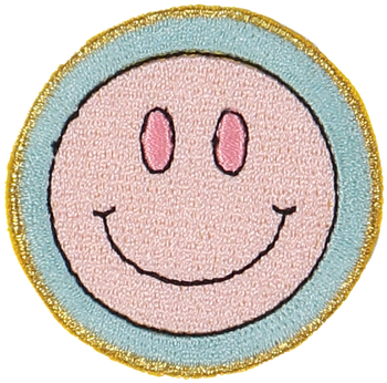 Smiley Face Sticker Patch