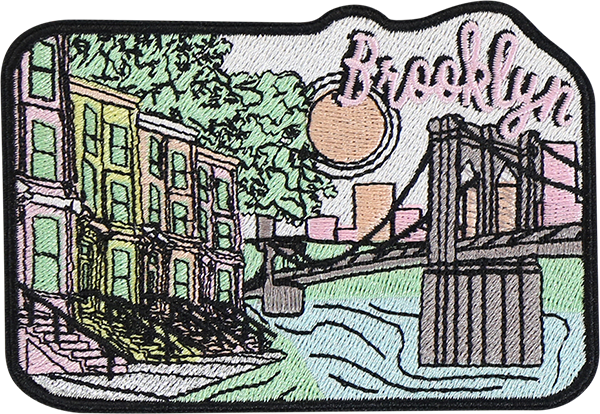 Brooklyn Sticker Patch