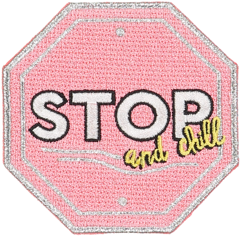 Stop Sticker Patch
