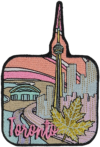 Toronto Sticker Patch