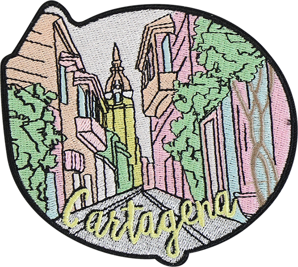 Cartagena Sticker Patch
