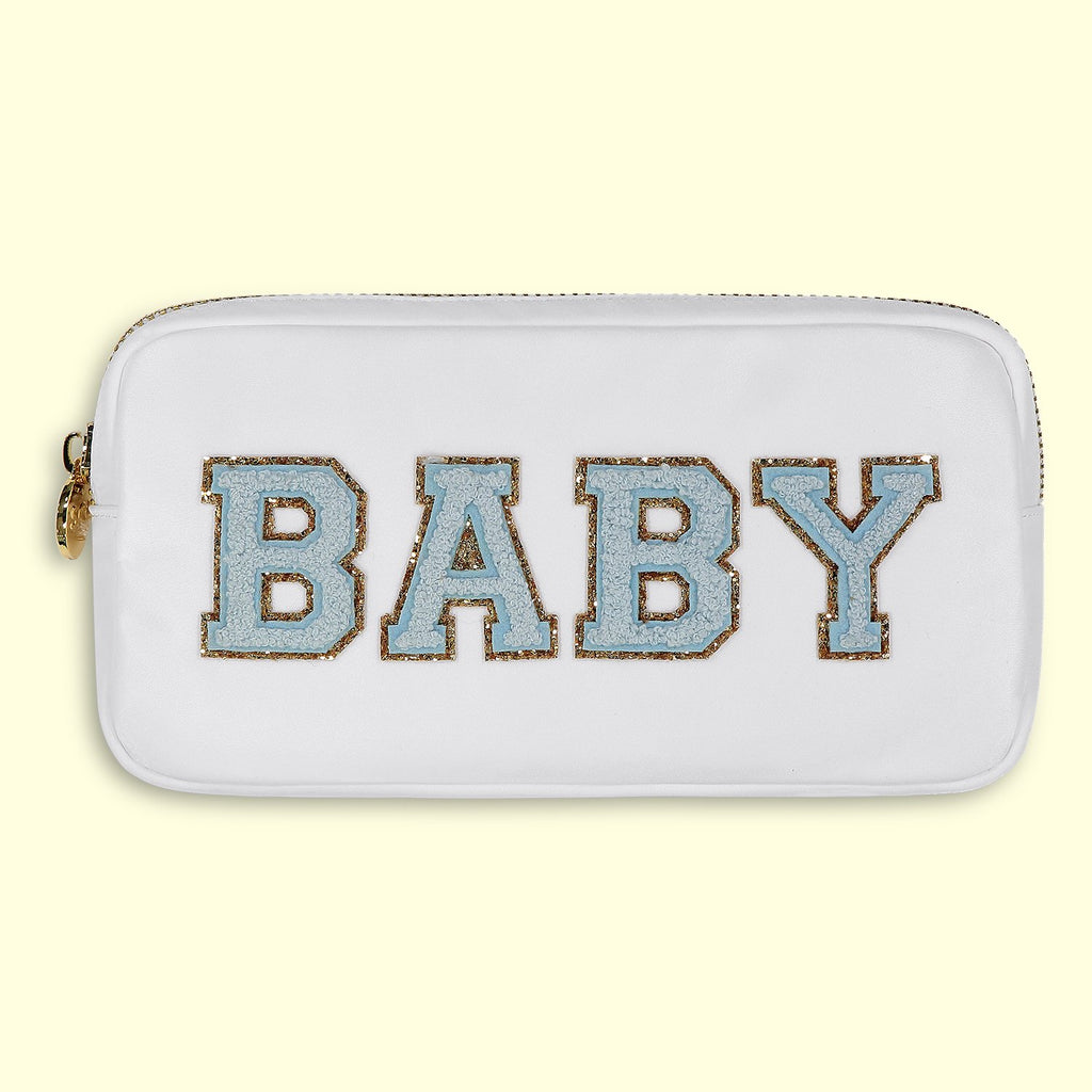 Blanc 'Baby Boy' Small Pouch