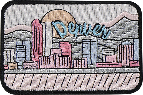 Denver Sticker Patch