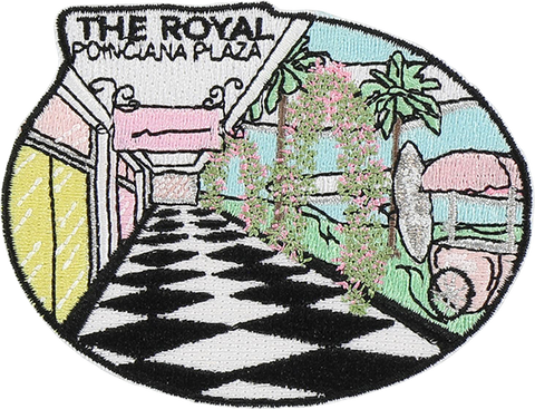 The Royal Poinciana Plaza Sticker Patch