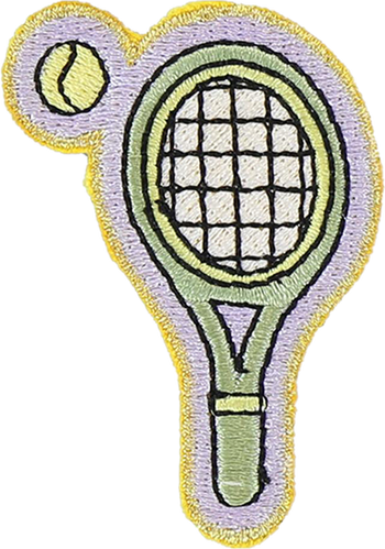 Tennis Sticker Patch