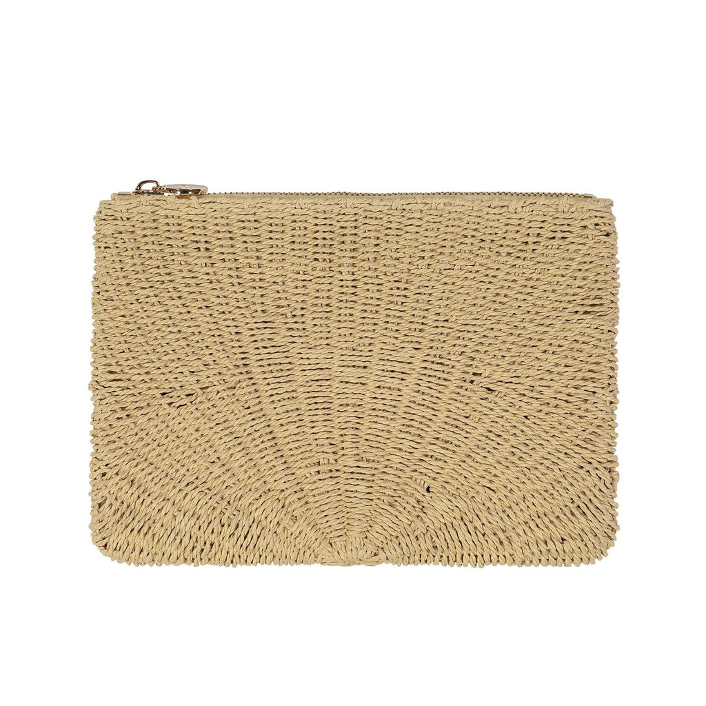 Woven Flat Solid Pouch