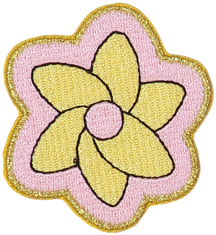 Daffodil Flower Sticker Patch