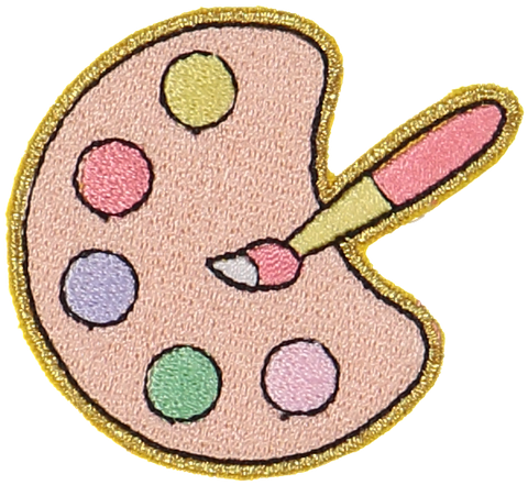 Paint Palette Sticker Patch