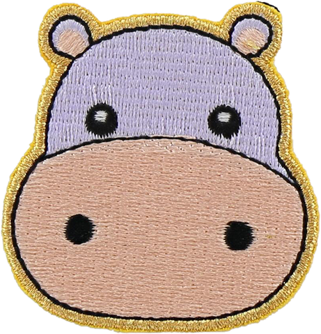 Hippo Sticker Patch