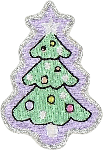 Christmas Tree Sticker Patch