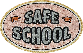 Safe School Sticker Patch