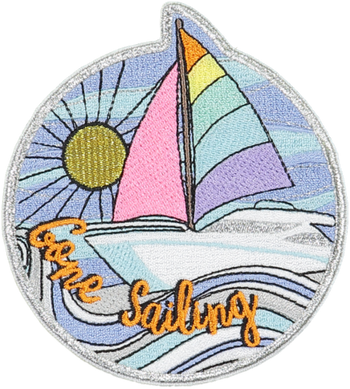 Gone Sailing Sticker Patch