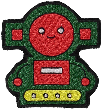 Primary Robot Sticker Patch