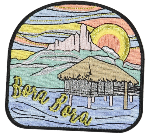 Bora Bora Sticker Patch