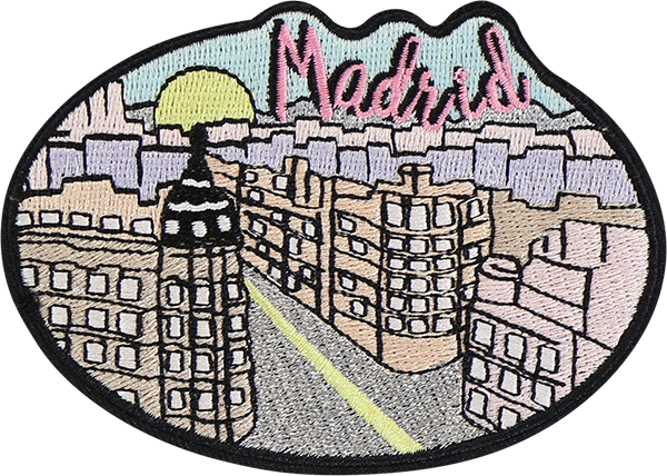 Madrid Sticker Patch