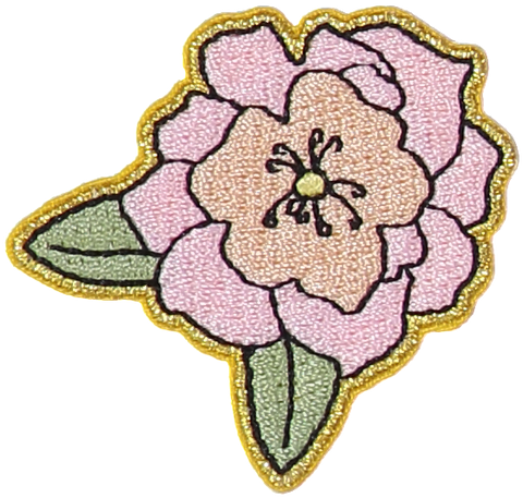 Peony Flower Sticker Patch
