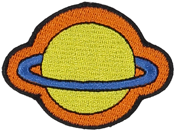 Primary Planet Sticker Patch