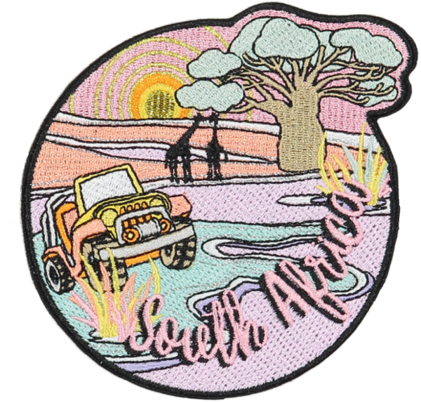 South Africa Sticker Patch