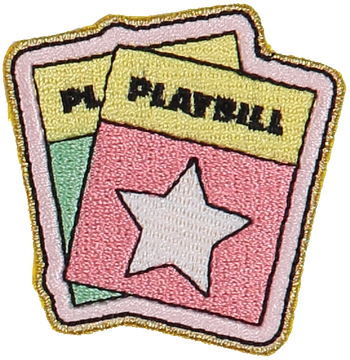 Playbill Sticker Patch