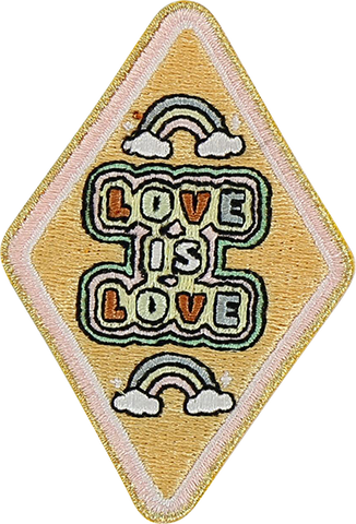 Love Is Love Sticker Patch