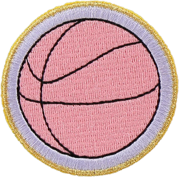 Basketball Sticker Patch