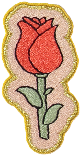 Rose Sticker Patch