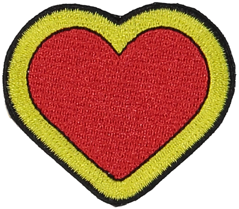 Primary Heart Sticker Patch