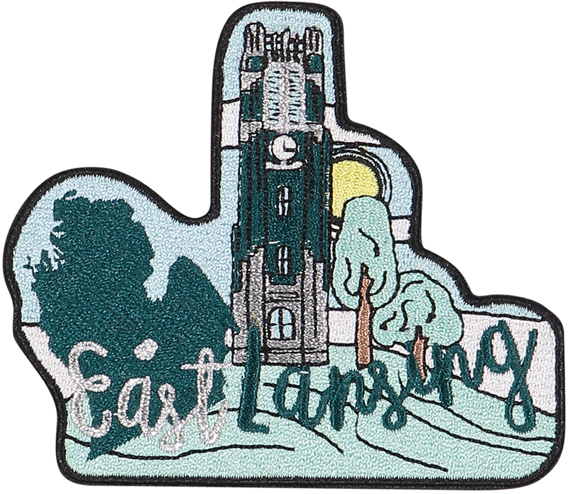 East Lansing Sticker Patch