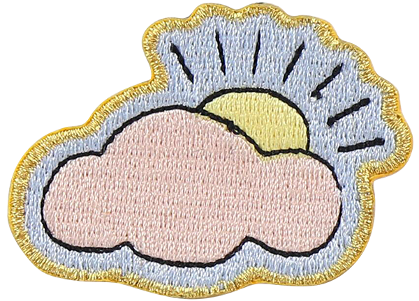Cloud Sticker Patch