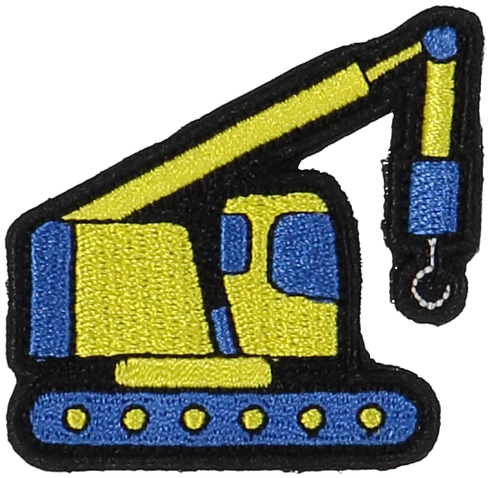 Primary Crane Sticker Patch