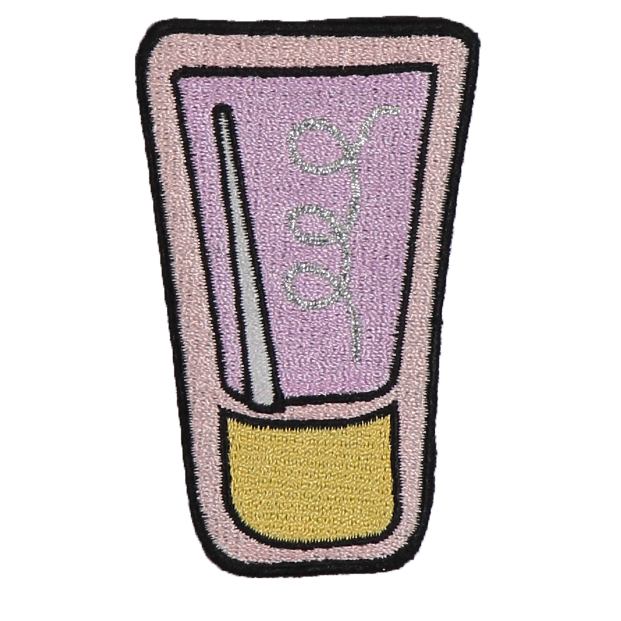 Cream Sticker Patch