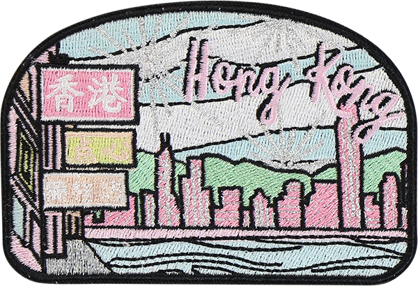 Hong Kong Sticker Patch