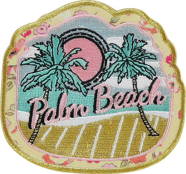 LoveShackFancy x Stoney Clover Lane Palm Beach Sticker Patch