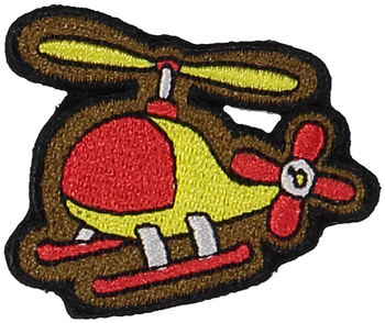 Primary Helicopter Sticker Patch