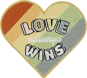 Love Wins Sticker Patch