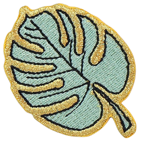 Palm Leaf Sticker Patch