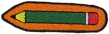 Primary Pencil Sticker Patch