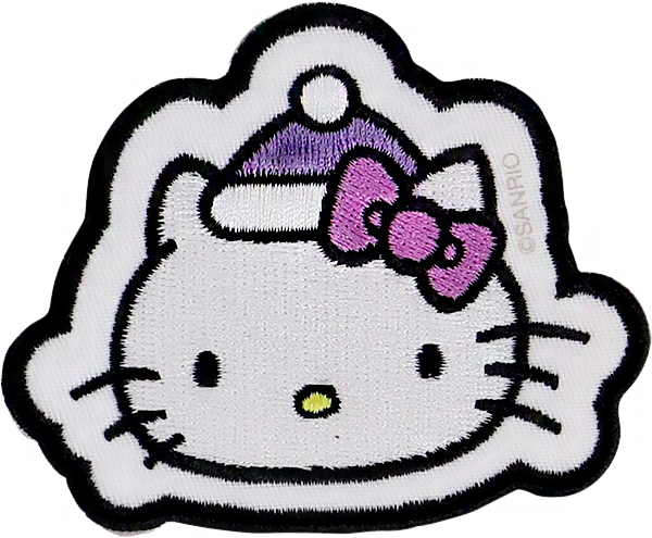 Hello Kitty Holiday Hat Face Patch