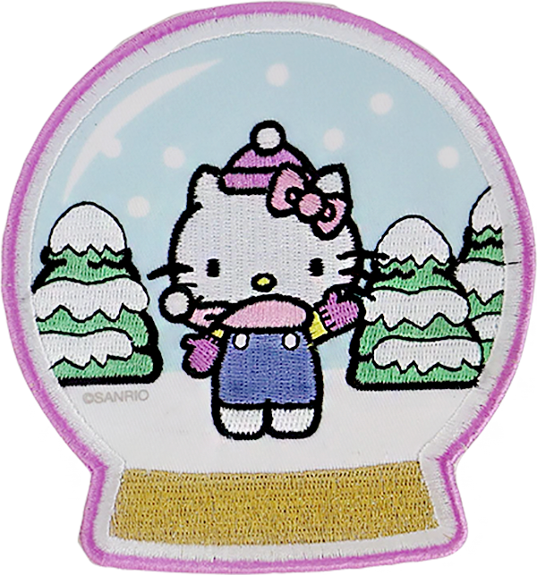 Hello Kitty Snow Globe Patch
